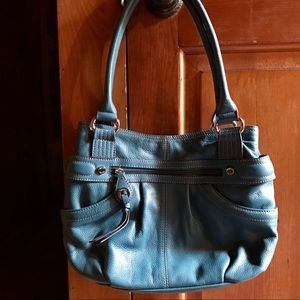 Teal Tignanello handbag